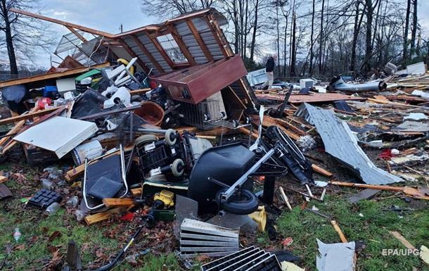 В США из-за торнадо погибли 11 человек
