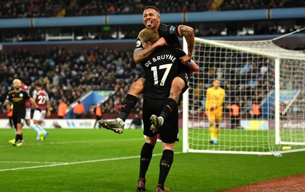 Манчестер Сіті обіграв Астон Віллу з непристойним рахунком