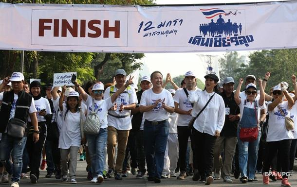 В Таиланде прошел массовый антиправительственный забег