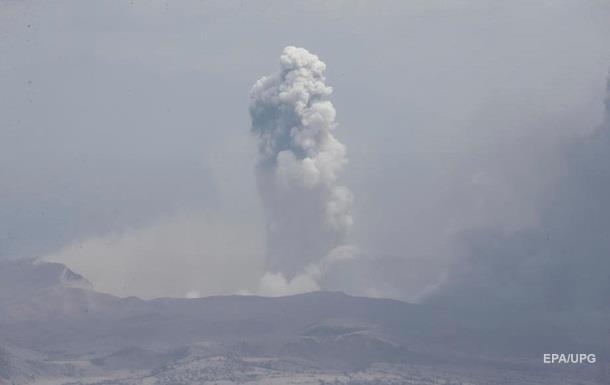 Извержение вулкана произошло в Эквадоре