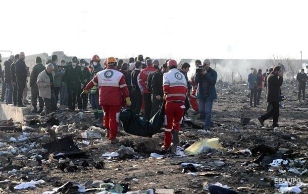 Появилась схема падения сбитого самолета МАУ