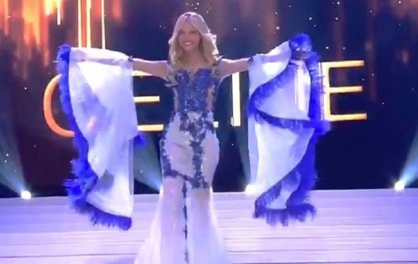Королева красоты упала на сцене