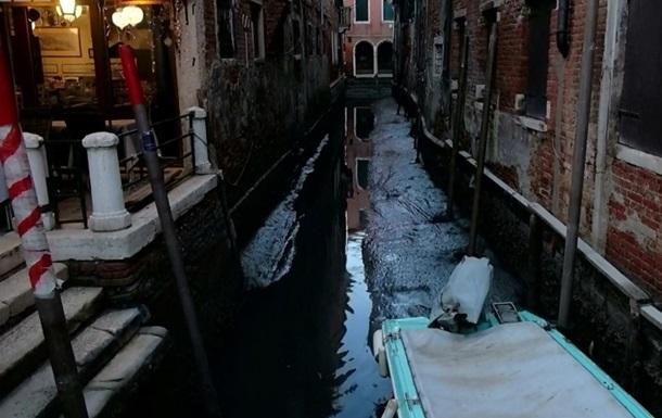 Відразу після повені: у Венеції пересохли канали