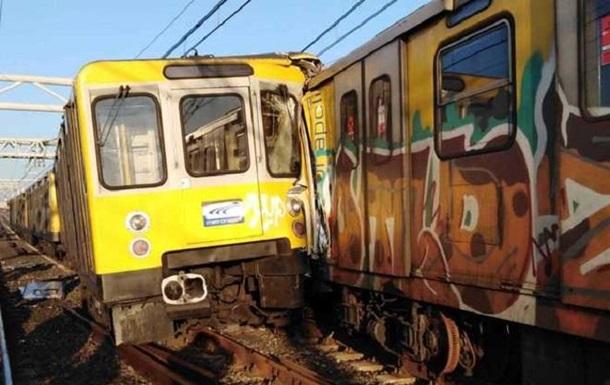 У Неаполі зіткнулися три потяги метро: 13 постраждалих
