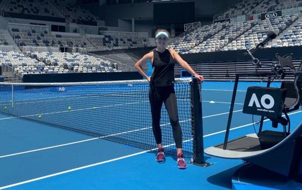 Світоліна забила тривогу перед стартом Australian Open