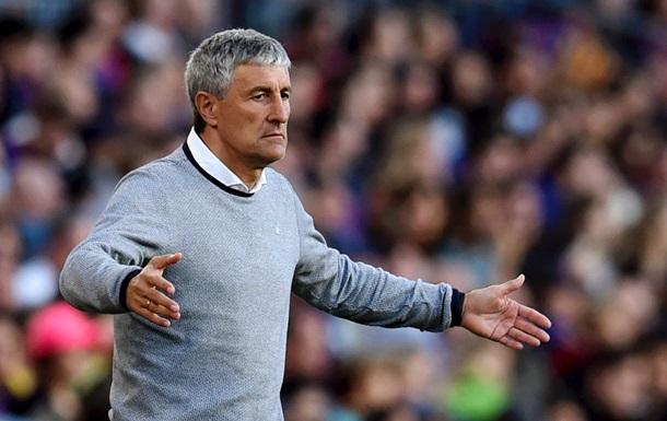 Барселона може розірвати контракт з новим тренером після завершення сезону