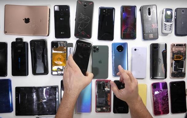 Появился рейтинг самых прочных смартфонов-2019