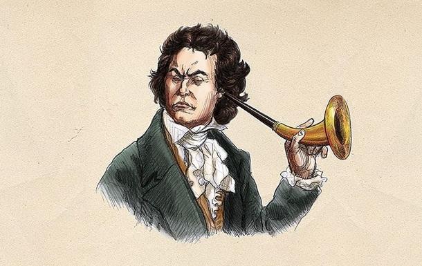 Названа причина глухоты Бетховена