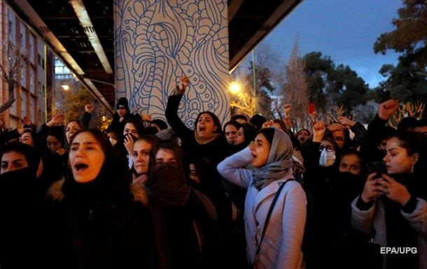 Протести в Ірані через МАУ: затримано 30 осіб