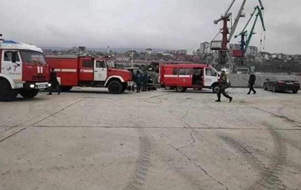 У порту Махачкали сталася пожежа на танкері з Ірану