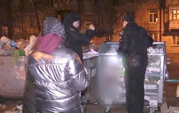 В мусорном баке в Киеве обнаружили труп младенца