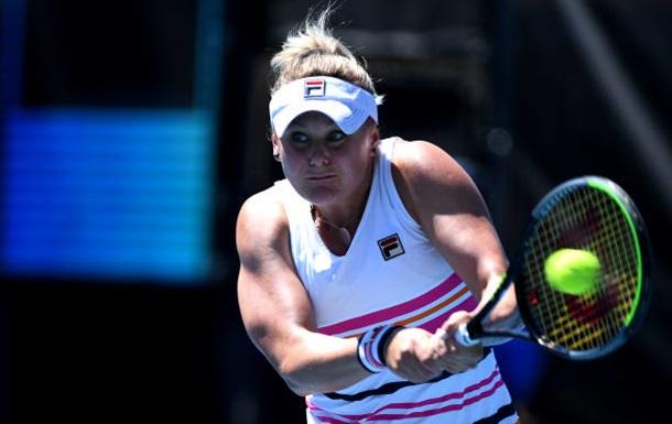 Козлова не сумела выйти в четвертьфинал турнира в Хобарте