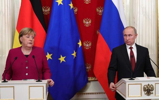Доля Лівії і Північного потоку-2. Меркель у Путіна