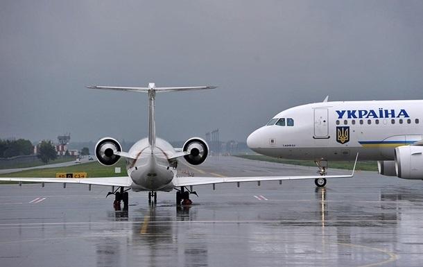 Количество авиарейсов в Украине выросло на 12%