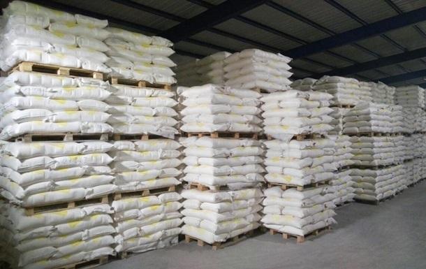 Украина сократила экспорт сахара более чем вдвое