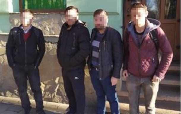 В центре Львова поймали четырех нелегалов