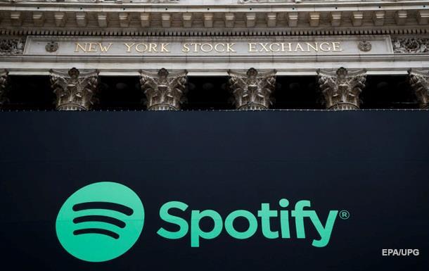 Музыкальный сервис Spotify частично заработал в Украине