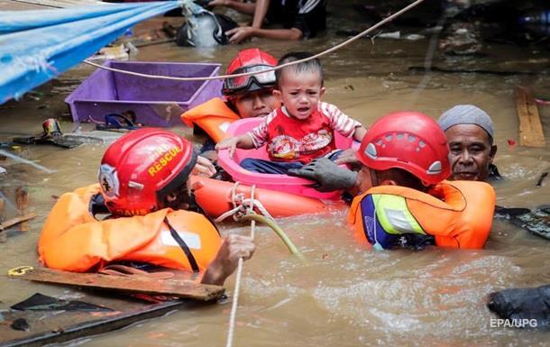 Два індонезійських острови повністю пішли під воду