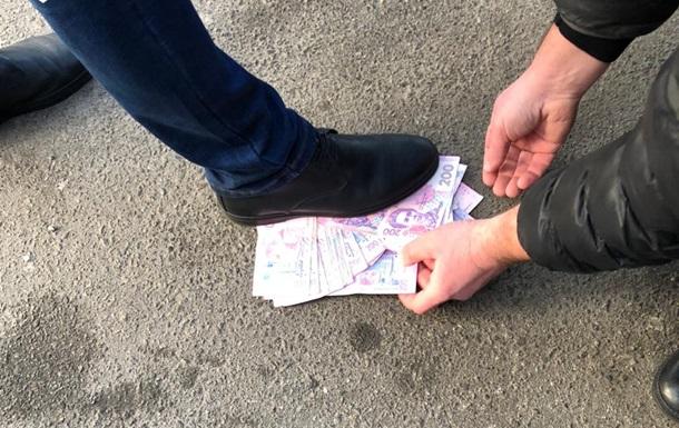В Киеве на взятке задержали оперуполномоченного