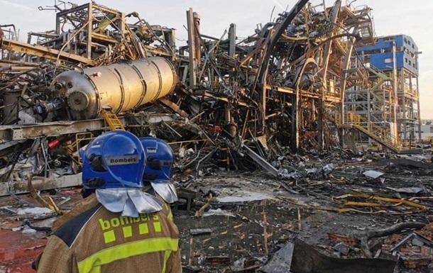 У Каталонії знову зросла кількість жертв вибуху на заводі