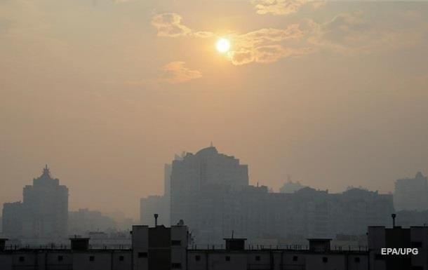 В Киеве зафиксировали высокий уровень загрязнения воздуха
