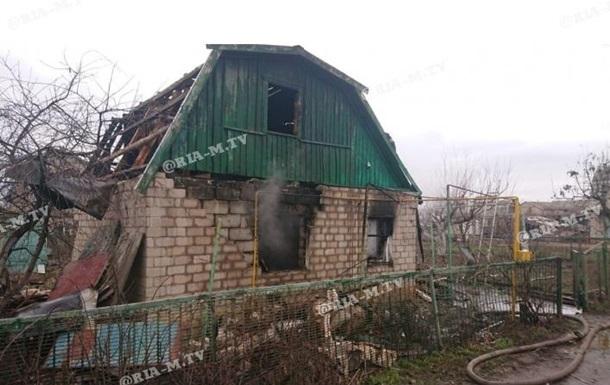 В Мелитополе взорвался частный дом, есть пострадавший