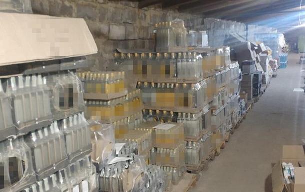 В районе проведения ООС изъяли тонны контрафактного алкоголя