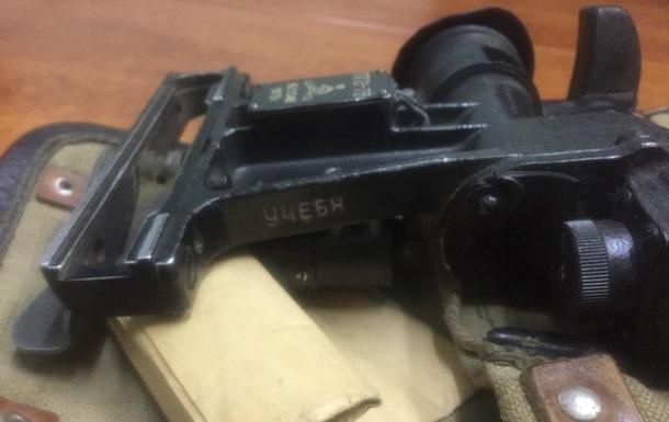 На Харьковщине задержали россиянина с прицелом к гранатомету