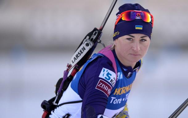 Биатлон: Украинки в эстафете в концовке упустила шанс на медаль