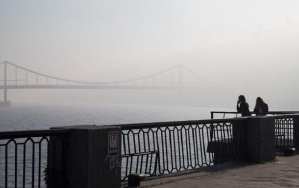 В Киеве снова смог: КГГА говорит о загрязнении воздуха