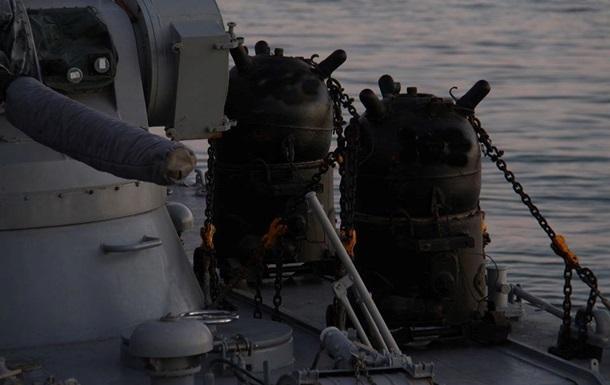 Штаб ООС опроверг  минные поля  на Азовском море