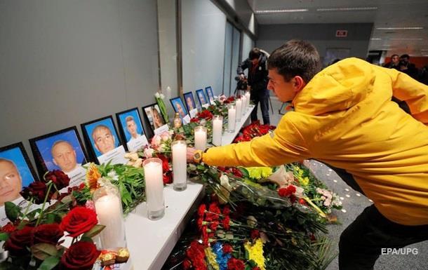 В ОП уточнили время траурной церемонии в Борисполе
