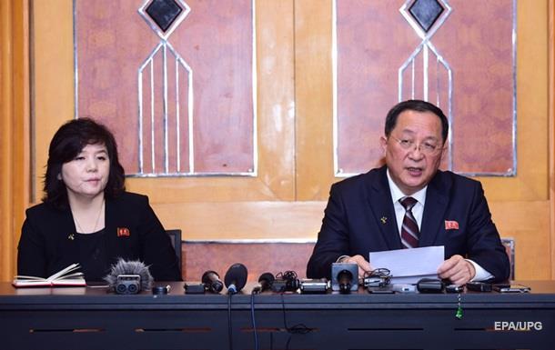 В Северной Корее сместили министра иностранных дел