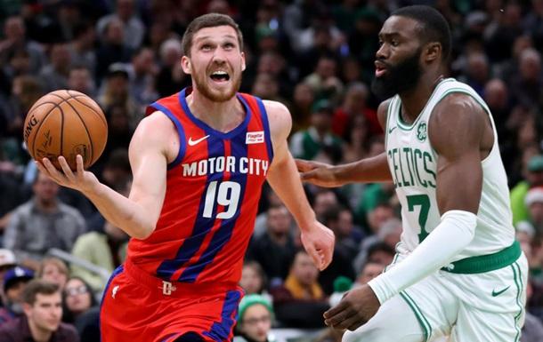 Михайлюк оказался среди пяти лучших в НБА по проценту трехочковых