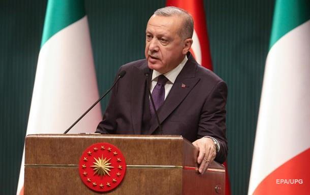 Эрдоган призвал положить конец  поведению  Хафтара