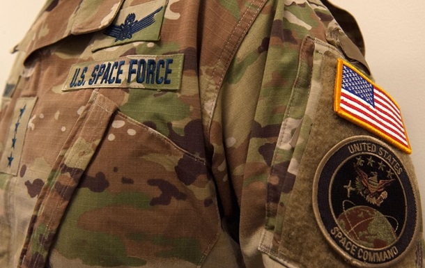 Пентагон показав форму Космічних військ США