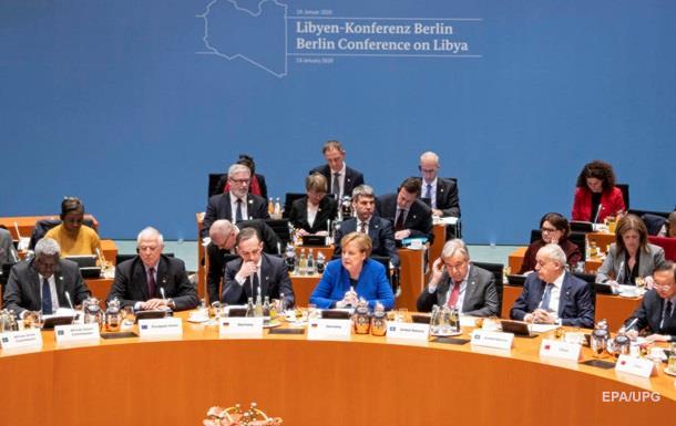 Конференція щодо Лівії: прийнято підсумкову заяву