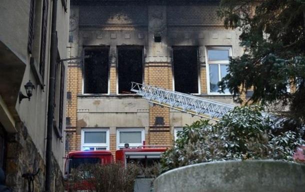 В Чехии восемь человек погибли при пожаре в интернате