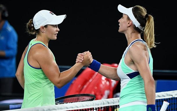 Цуренко вылетела с Australian Open, выиграв сет у первой ракетки мира