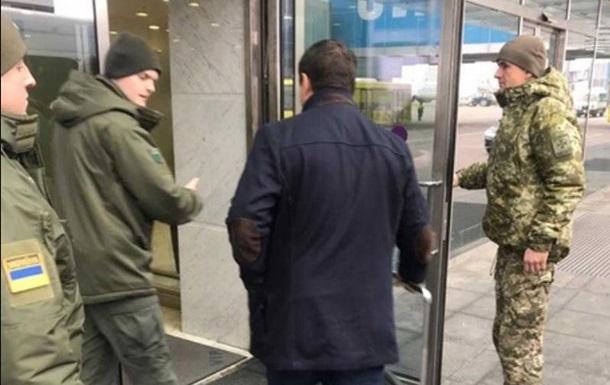 Пограничники подтвердили снятие Микитася с рейса
