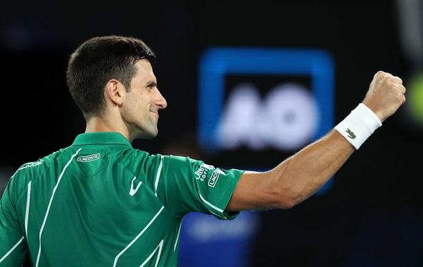 Джокович выиграл 900-й матч в карьере и стал шестым в истории по этому показателю