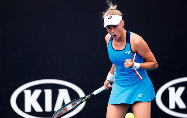 Ястремська з розгромної перемоги стартувала на Australian Open