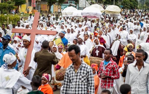В Эфиопии 10 человек погибли на православном празднике