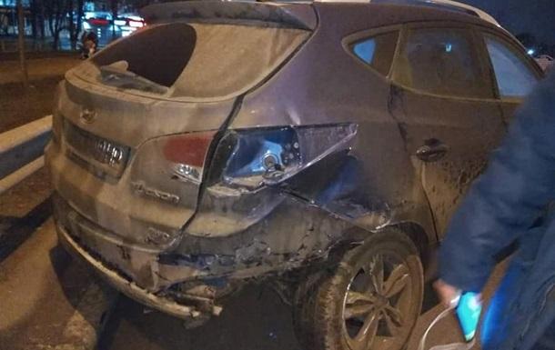 В Харькове иностранный студент разбил в хлам авто депутата
