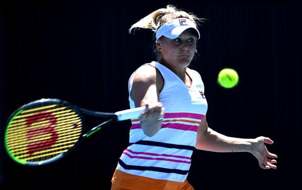 Козлова четвертий рік поспіль програла в першому колі Australian Open