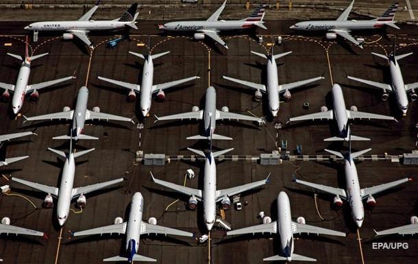 Виробництво літаків Boeing 737 Max припинено