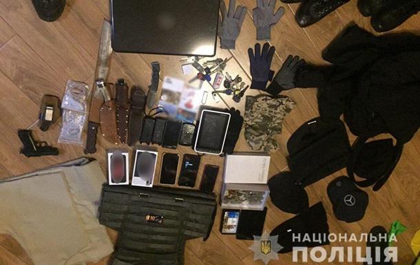 На Киевщине задержали банду грабителей