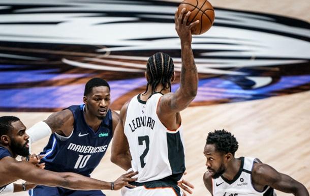 НБА: Даллас уступил Клипперс в единственном матче игрового дня
