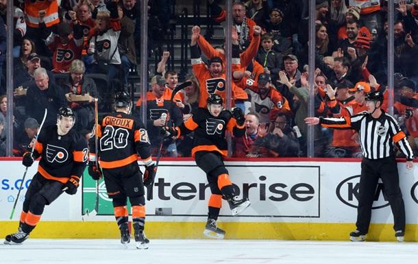 НХЛ: Филадельфия разгромила Питтсбург, Каролина - Виннипег