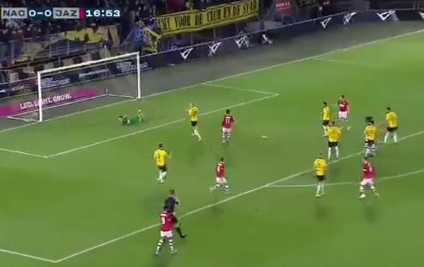 В Нидерландах фанаты оригинально спасли свою команду от гола